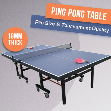 Pro size championship ping pong table tennis table buy - Measurements of table tennis table ...