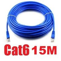CAT6 Ethernet LAN Network Cable 15m 50 Feet in Blue