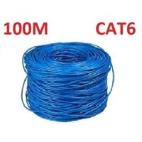 CAT6 Ethernet LAN Network Cable 100m 328 Feet Blue