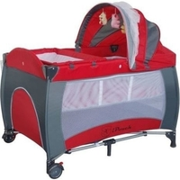 Baby Travel PortaCot Playpen w/ Carry Bag in Red