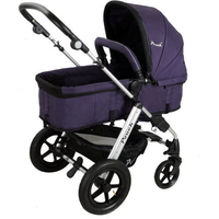 Pouch 2-in-1 Baby Pram Stroller & Bassinet Purple