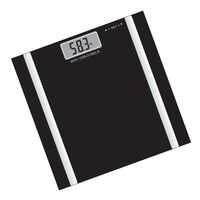 Digital Health Body Fat Analyser Scale in Black