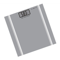 Digital Health Body Fat Analyser Scale in Grey