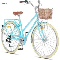 ProGear Pomona Vintage Bike w Basket in 4 Colours
