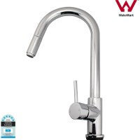 European Swivel Mixer Tap w Pull Out Hose End 180cm