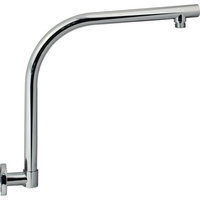 Wall Mounted Gooseneck Swivel Shower Arm 407mm