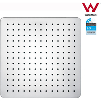 Square Stainless Steel Ultra Thin Shower Head 12in