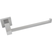 Bathroom Single Towel Rail Square and Steel Hook