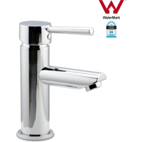 Bathroom Flick Vanity Sink Basin Mixer Tap Round