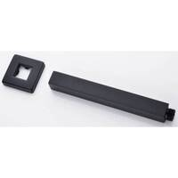 Female End Square Ceilling Shower Arm Black 200mm