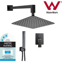 10in Shower Head & 400mm Wall Arm w/ Handheld Set