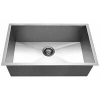 Kitchen Stainless Steel Sink w/ Strainer 762x457mm