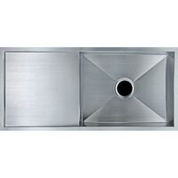 Kitchen Stainless Steel Sink w Drainboard 960x450mm