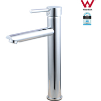 Lollipop High Rise Basin Mixer Tap Faucet in Chrome