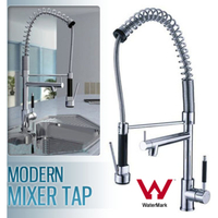 Kitchen Mixer Tap w/ Handheld Trigger Spray Chrome