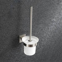 Stainless Steel T6 Toilet Brush And Holder