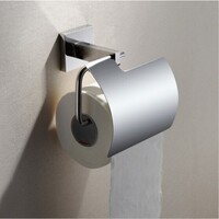 Stainless Steel Toilet Paper Roll Holder in Chrome
