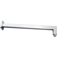 Female End Square Shower Arm in Chrome 400mm