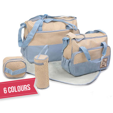 5ac3f51815f4 5-in-1 Baby Nappy/Changing Carry Bag | Buy Nappy Bags - 26065