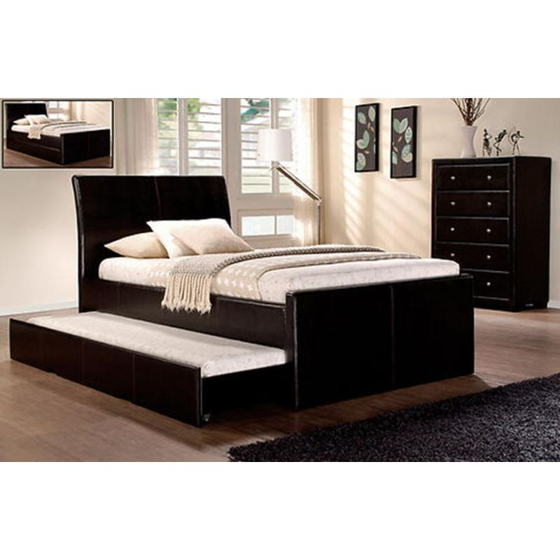 Pu Leather Westminster King Single Bed Frame W Full