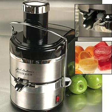 Jack LaLanne Stainless Steel Power Juicer Machine | Buy ...