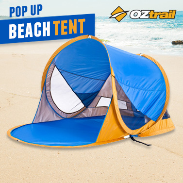 OzTrail Beach Pop Up Tent - Summer Must-Have! & OzTrail Beach Pop Up Tent - Summer Must-Have! | Buy Beach Tents