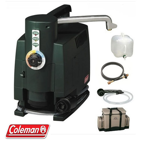 Coleman Portable Shower : Camp hot water system coleman on demand buy