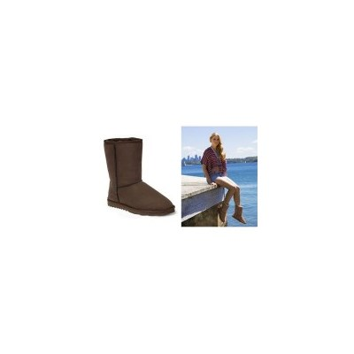 Australian Sheepskin Classic 3/4 Ugg Boot Chocolate