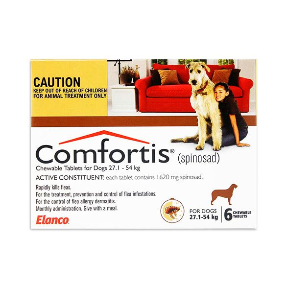 Comfortis Chewable Dog Flea Treatment For 6 Months Buy