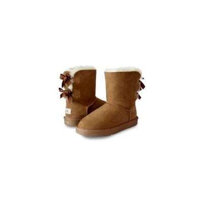 OzWear Australian Sheepskin Two Ribbon UGG Boots