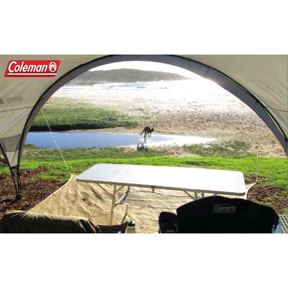 Coleman Beach Shelter : Coleman event sun shelter with sunwall buy beach tents