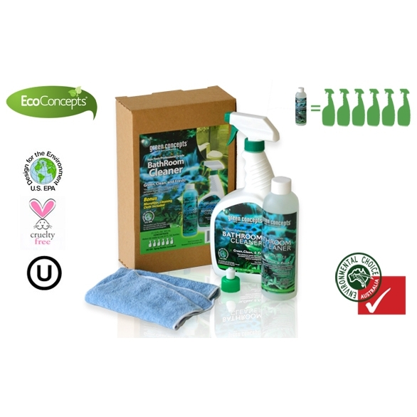 Ecoconcepts Bathroom Tile Grout Cleaning Kit Buy Cleaning Supplies