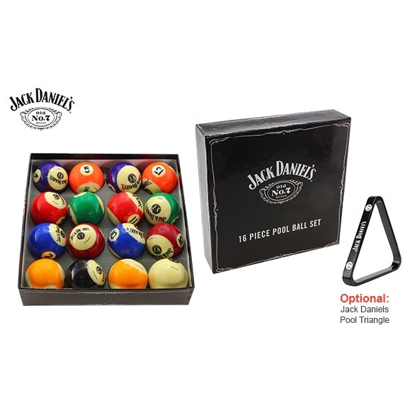 Jack Daniels Licensed Pool Snooker Ball Set 16pcs Buy