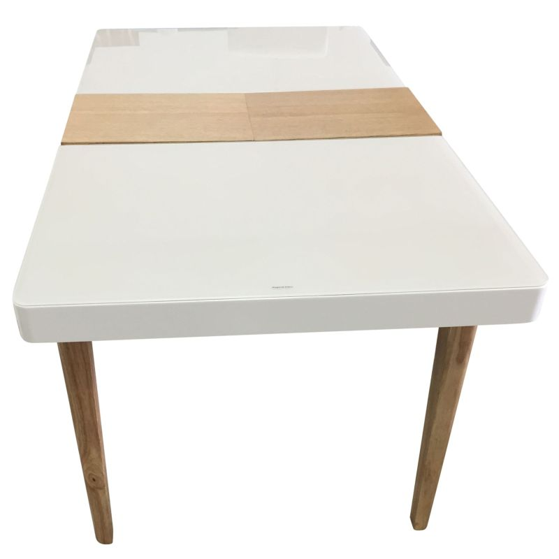 Yarra MDF amp Wood Extendable Dining Table in White Buy  : DT YARRA04 from www.mydeal.com.au size 800 x 800 jpeg 32kB
