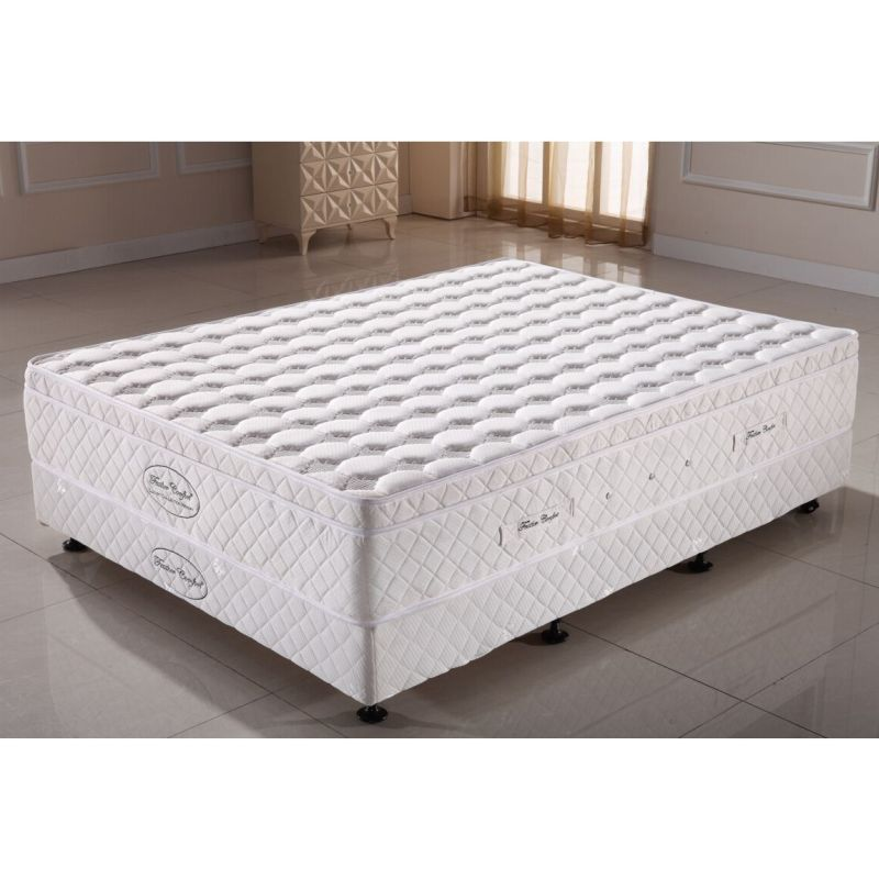 Luxury king size memory foam pocket spring mattress buy king size mattress Memory foam king size mattress