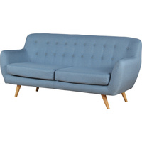 The Sixty 3 Seater Sofa Lounge in Light Blue