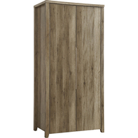 Alice MDF Wood Wardrobe w Drawer in Oak Tone 190cm