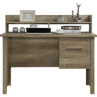 Alice 2 Drawer MDF Wood Study Desk in Oak 120cm
