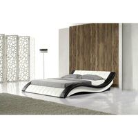 Modern Queen Size PU Leather Bed Frame