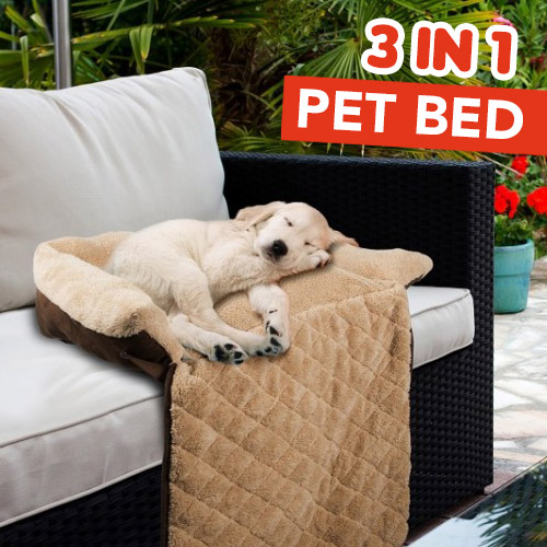 Comfy 3 In 1 Pet Bed Sofa Protector Play Mat Bed Buy