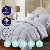 Royal Comfort 350GSM Bamboo Quilts