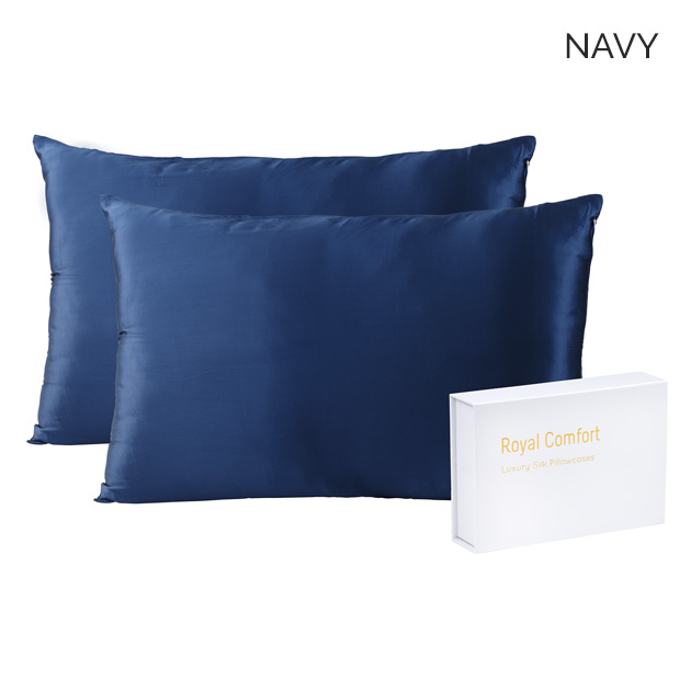 Set Of 2 Mulberry Silk Pillowcases 7 Colours Buy