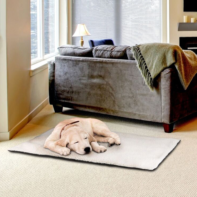 selfheated thermo cushioned pet bed - Heated Pet Beds