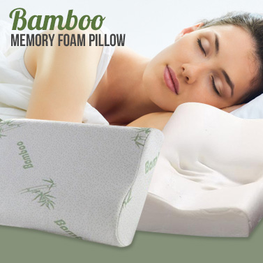 improve your sleep with a bamboo memory foam pillow