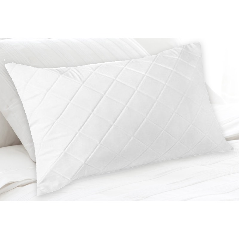 King Size Fibre And Cotton Quilted Pillow Protector Buy Pillow