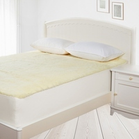 Queen Size Fully Fitted Cotton and Wool Underlay