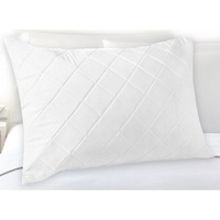 Standard Fibre and Cotton Quilted Pillow Protector
