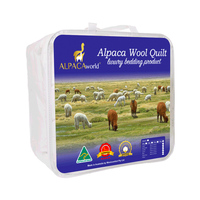 Alpaca & Wool Blend 500GSM Quilts in 5 Size Options