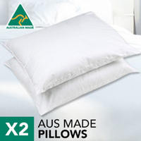 Luxurious Australian Made Pillows with Japara Case