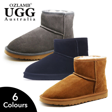 0c252b1b0757 Ankle-High Australian Wool UGG Boots | Buy Men's UGG Boots ...